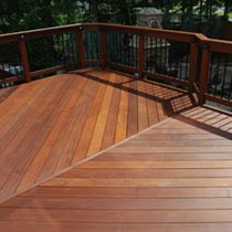 Cumaru decking brazilian teak cumaru deck cumaru wood for Red cumaru hardwood flooring