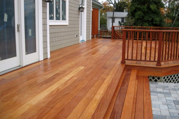 garapa hardwood decking
