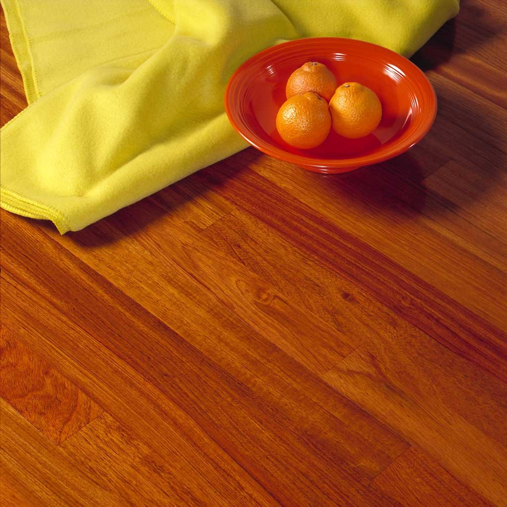 brazilian cherry flooring exotic wood image