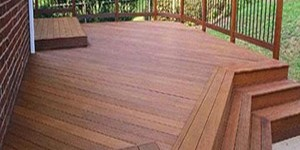 hardwood species massaranduba decking exotic wood image