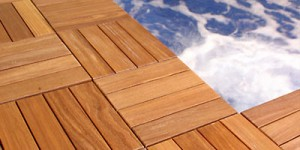 wood deck tiles image